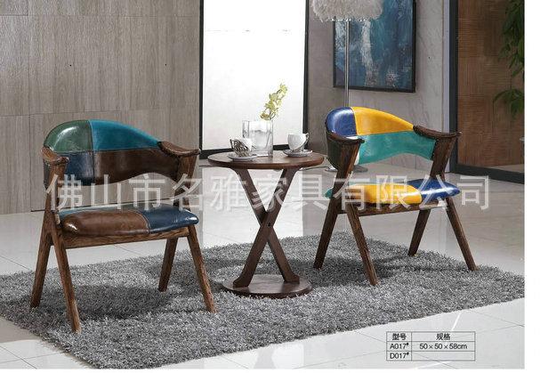 厂家批发 中式酒店餐椅 实木餐桌椅组合 西餐厅奶茶店餐桌椅
