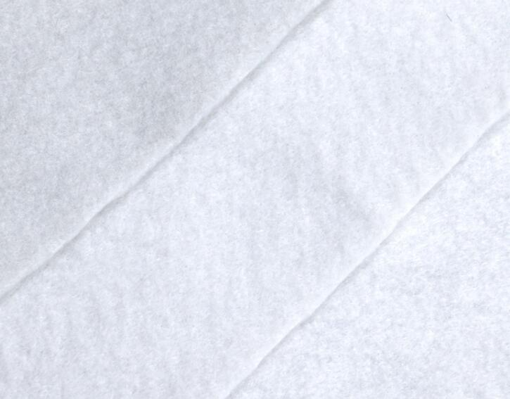 厂家现货出售短纤土工布公路养护抗拉抗撕裂延伸较好短纤土工布