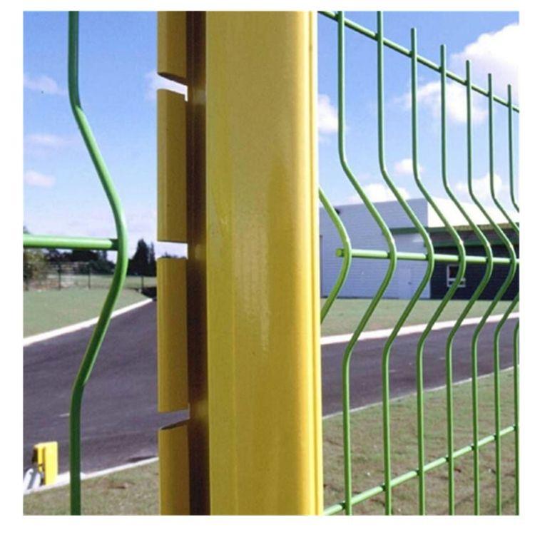 厂家直销三折弯桃形护栏网道路临边护栏1.8*3m桃形护栏网专业批发