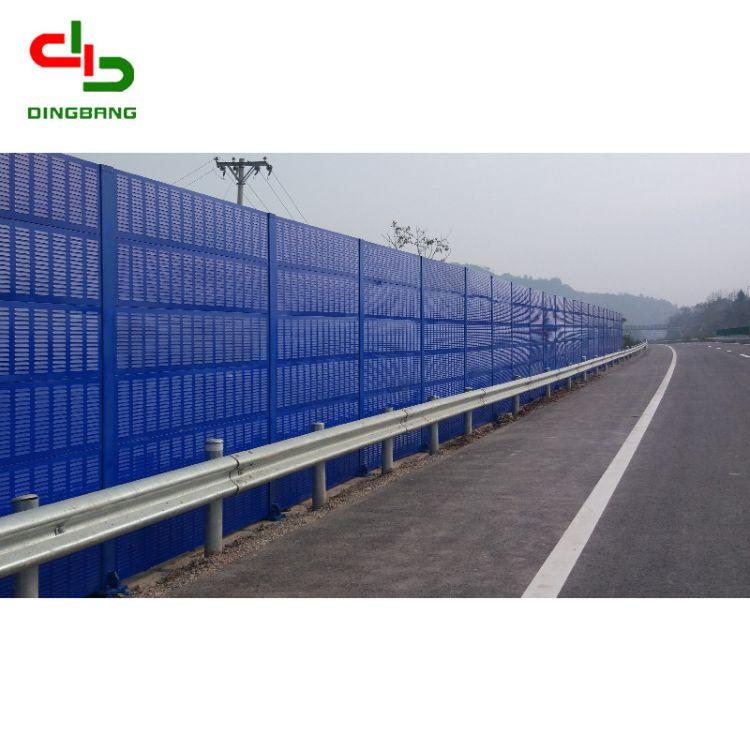 高速公路声屏障厂家直销隔音玻璃钢声屏障高强度消音小区声屏障