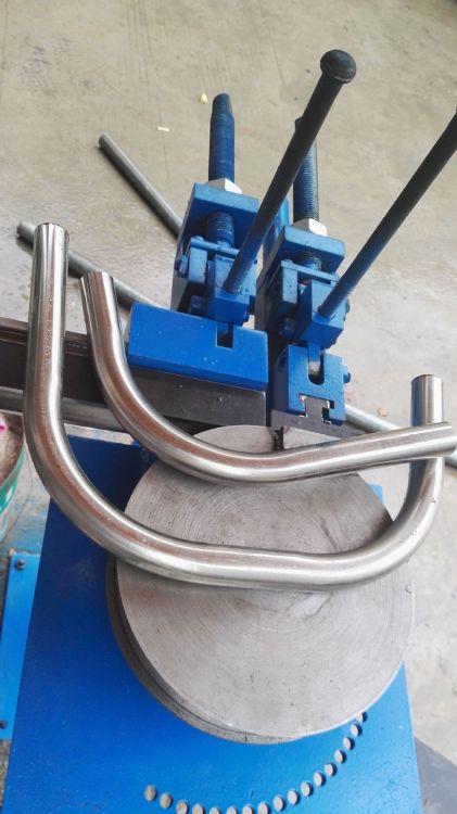 通芯手动弯管机 小型简易弯管机 气动弯管机 可弯铜铁铝等不同料