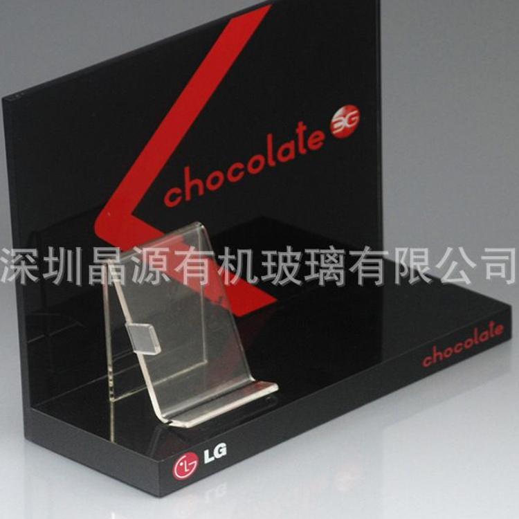 直销品牌数码耳机亚克力展示架 电子产品有机玻璃展示架