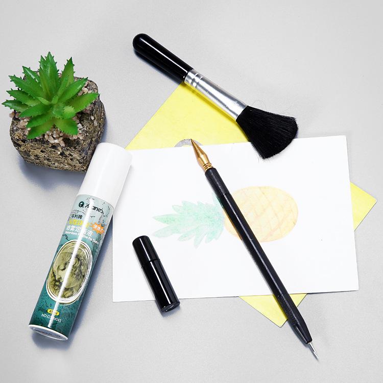 刮画工具刮刮笔刮画细节笔刮刮乐修复笔刮画专用用具定画液批发