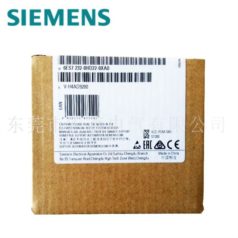 西门子原装正品 6ES7 315-2EH14-0AB plc模块EM231模块