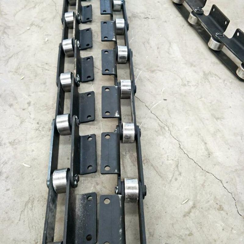 厂家直销热处理长节距输送链条 工业弯板链条 304不锈钢弯板链条