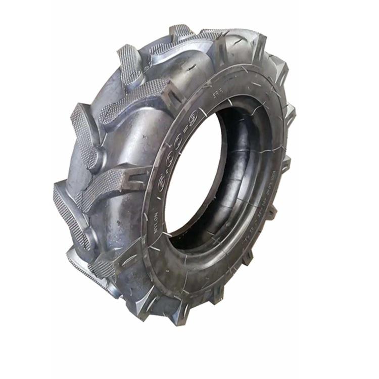 耐磨微耕机农用轮胎400-10 全新人字R1农机手扶拖拉机轮胎4.00-10