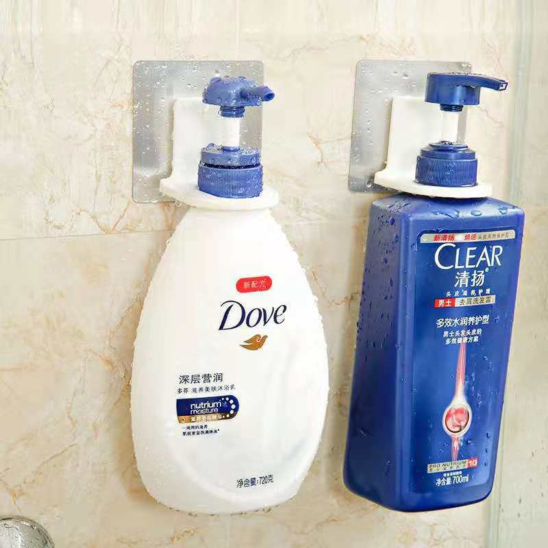 无痕贴沐浴露挂架卫生间置物架浴室洗发水架厨房洗手液洗洁精挂架