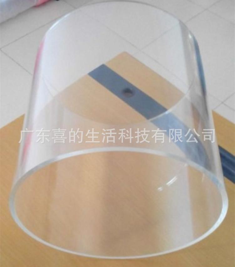 现货供应大口径有机玻璃管 PMMA管 加厚有机管 有机玻璃制品加工