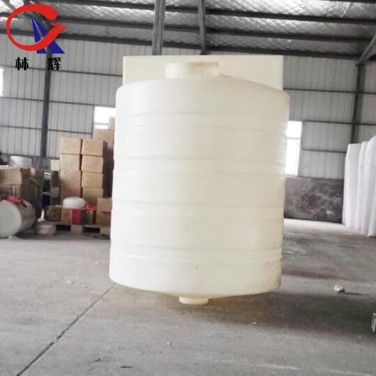 厂家直销 林辉2吨锥底投药桶  pe耐酸碱平安彩票权威平台溶液箱 尖底浆料搅拌桶