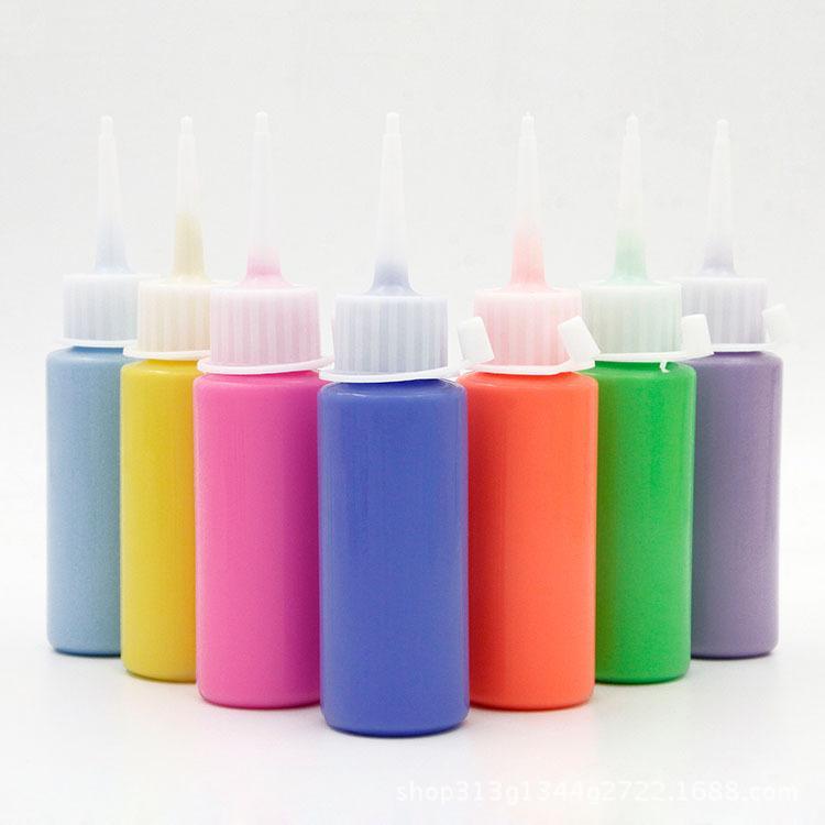 小瓶装丙烯颜料 丙烯颜料 胶画颜料