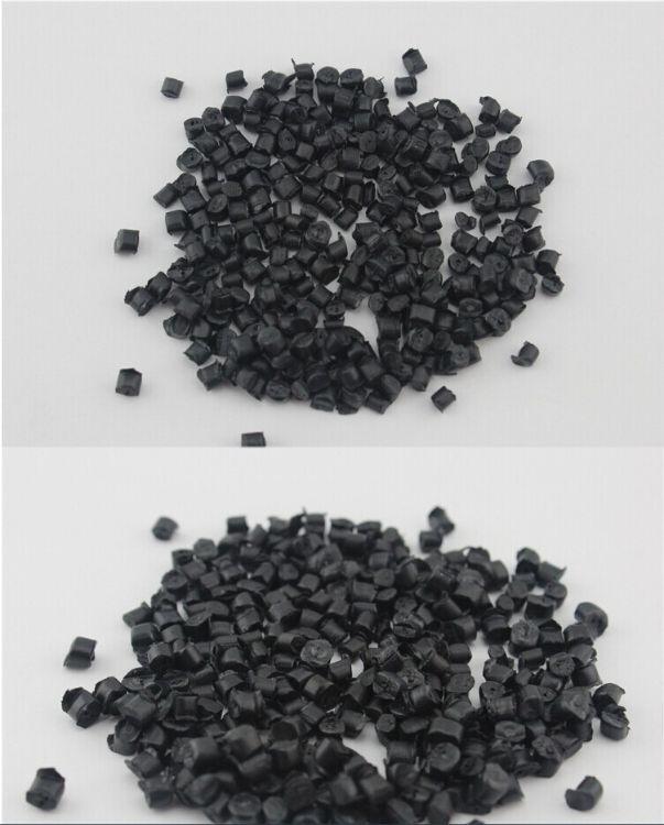 供应黑色玻纤增强PA66再生回料