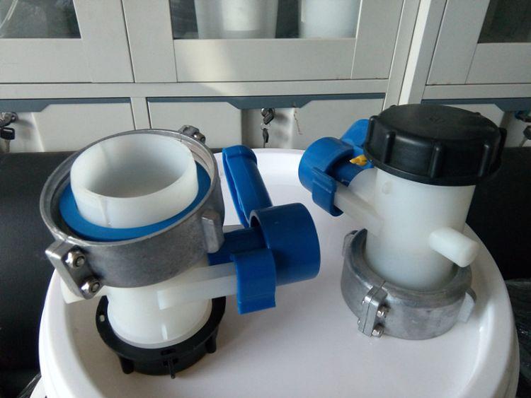 热销 1000升塑料桶阀门, IBC吨桶(75mm)球阀 碟阀 欢迎选购