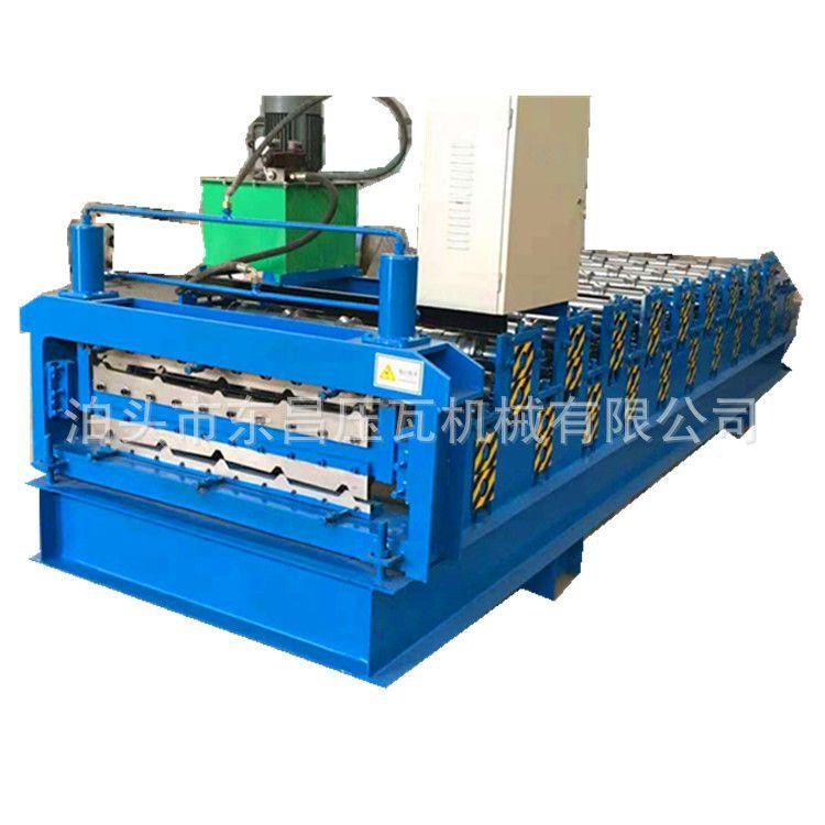 厂家批发泊头压瓦机 双层压瓦机 840-900型彩钢瓦压瓦机 数控操作