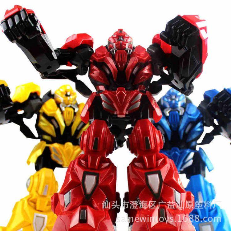 2.4G体感遥控机器人 大型拳击对战机器人 格斗机器人男孩儿童玩具
