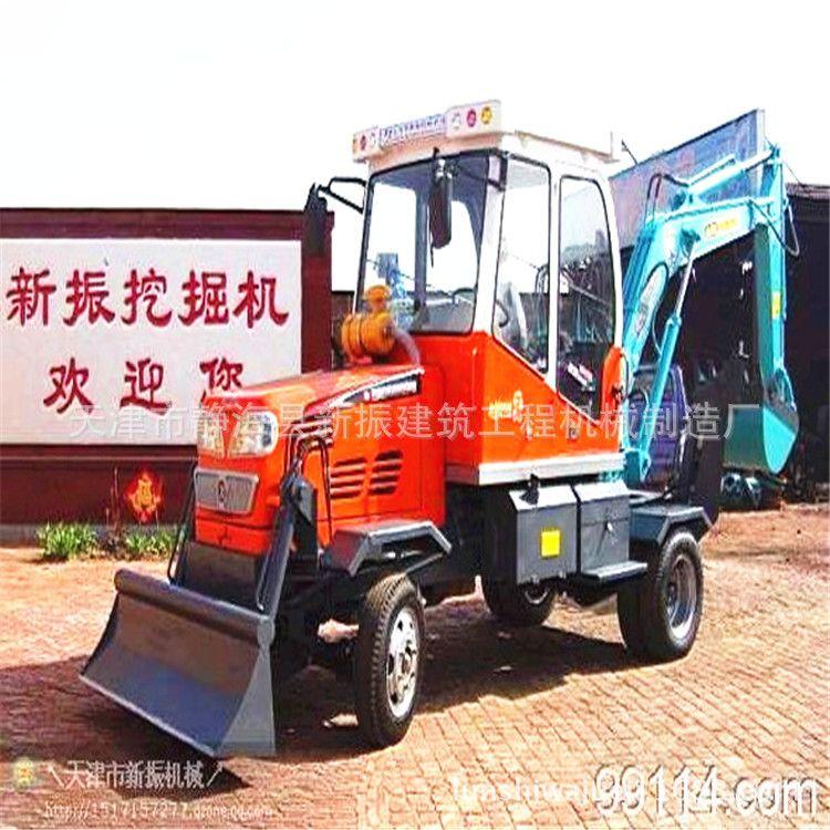 文山州小型挖掘机厂家 轮式挖土机挖掘机系列
