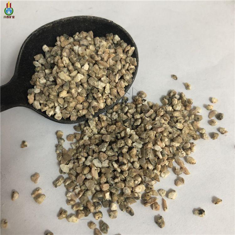 金黄色软质麦饭石颗粒 饲料添加用麦饭石颗粒 饮水机滤料麦饭石