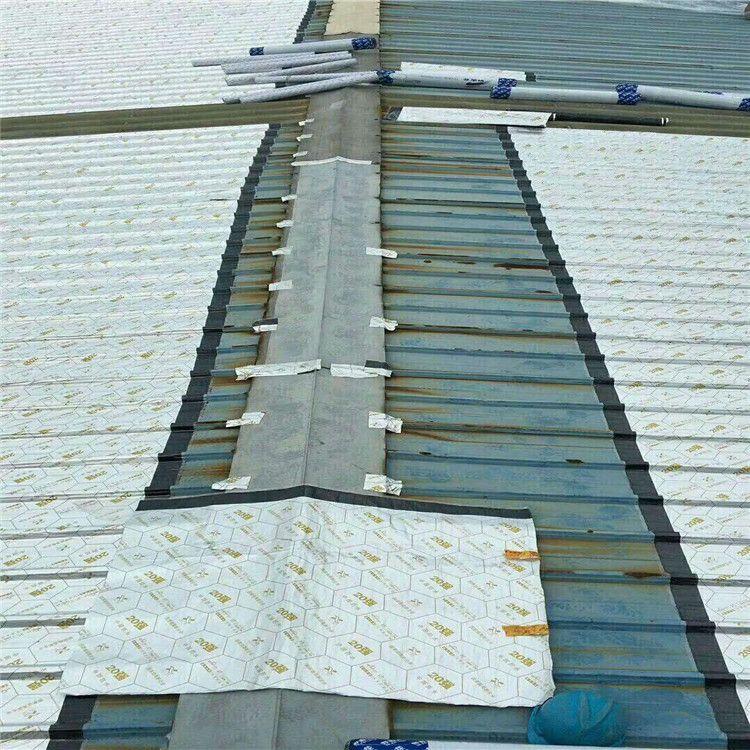 平房屋顶防水卷材SBS自粘沥青彩钢瓦楼屋顶裂缝堵漏王补漏防水