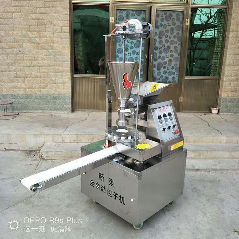 新型智能包子机 仿手工包子机全自动包子机 商用不锈钢包子