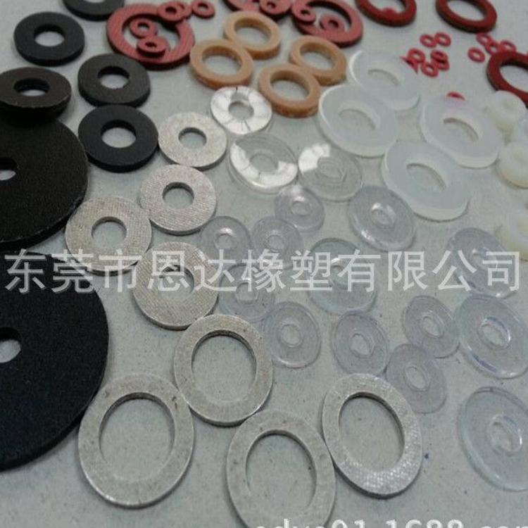 广东厂家供应乳白硅胶平垫 背胶环保硅胶垫
