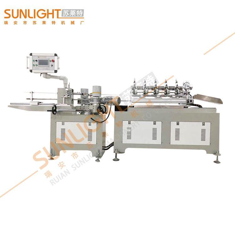 纸吸管设备 高速纸吸管机 苏莱特机械厂 一次性纸吸管机械设备