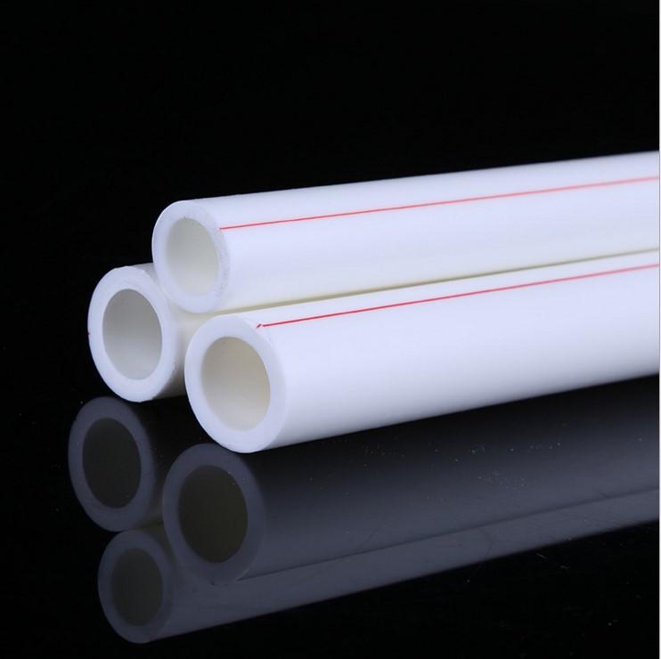 厂家直销ppr冷热水管 家装绿色抗菌加厚PPR管 PPR水管