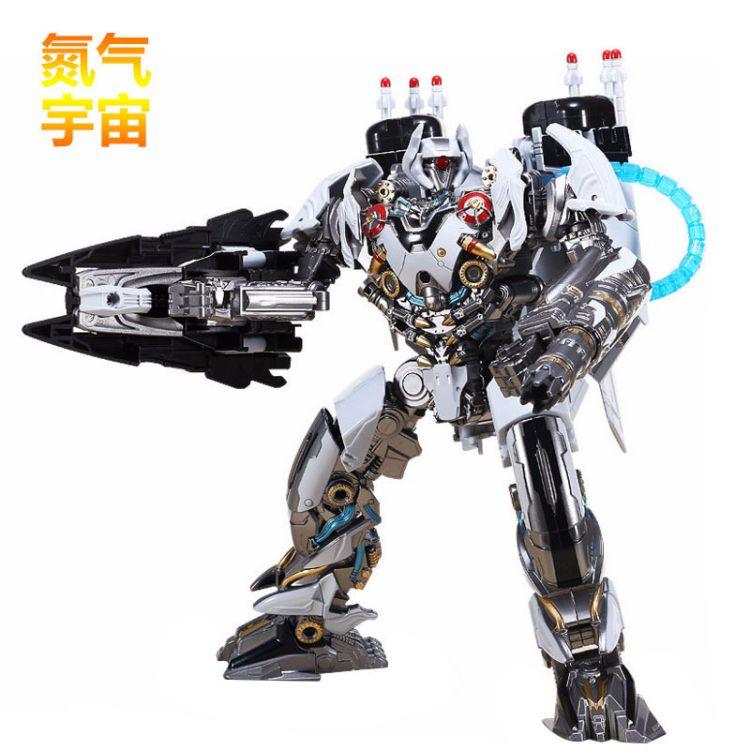 黑曼巴合金收藏版变形玩具金刚电影5五V�氮气宙斯放大版 LS01