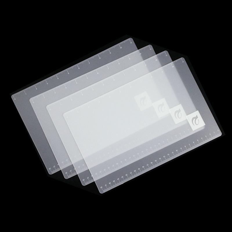 供应PP胶片 磨砂半透明PP片材 白色/黑色PP板 A3 A4规格可定制