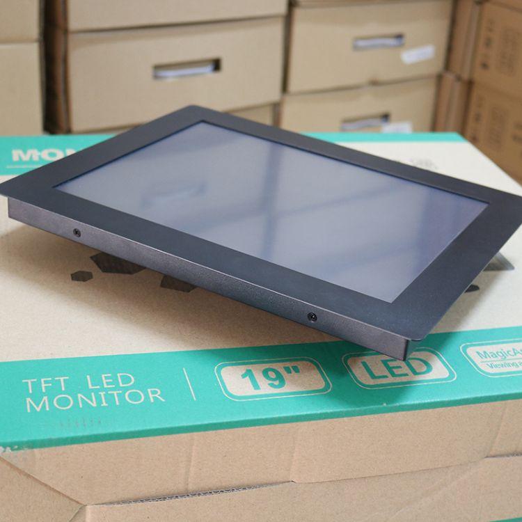 19寸工业显示器触摸屏液晶工控显示屏触控1280*1024hdmi正屏宽屏