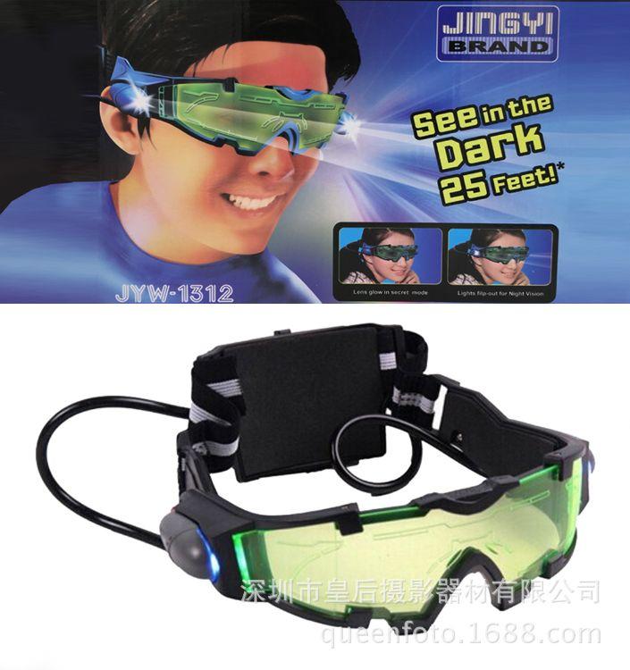 头戴式夜视镜防风沙防弹护目镜儿童放鞭炮防护镜防冲击轮滑保护镜