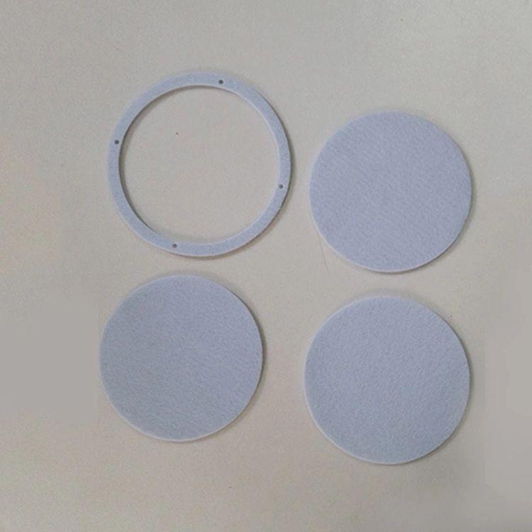 生产黑色耐高温隔热垫片 密封圈 白色圆形环保密封圈 隔热棉垫