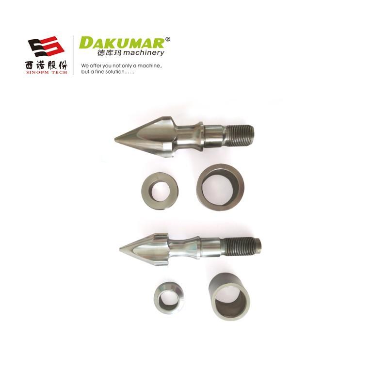 厂家直销高精度螺杆三小件 双金属塑料过胶件 注塑机螺杆配件批发