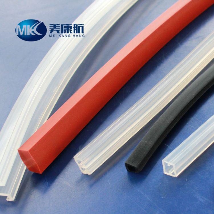 厂家供应硅胶密封条 异形硅胶条 硅胶圆棒密封条 方形硅胶密封条