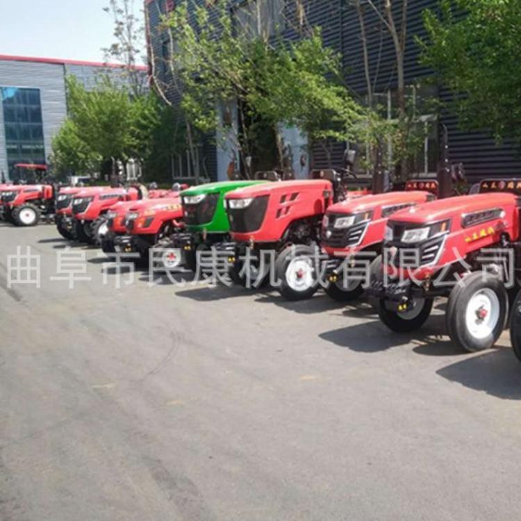 热销504中型国三四驱拖拉机 农用四轮拖拉机 多用途两 四驱拖拉机