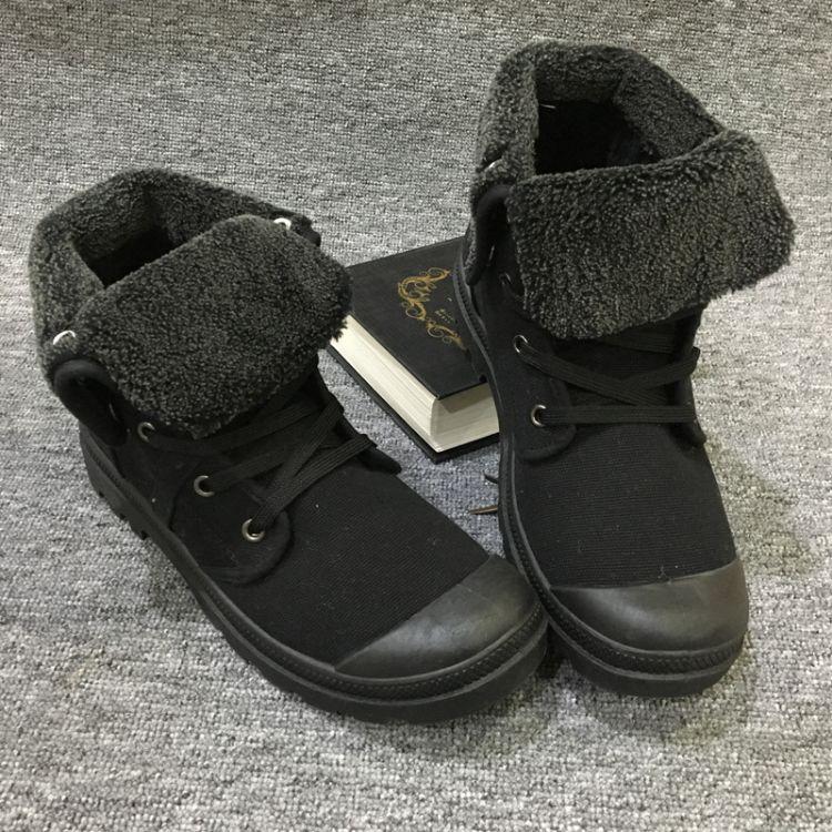 2018新款棉鞋雪地鞋高帮加绒男鞋