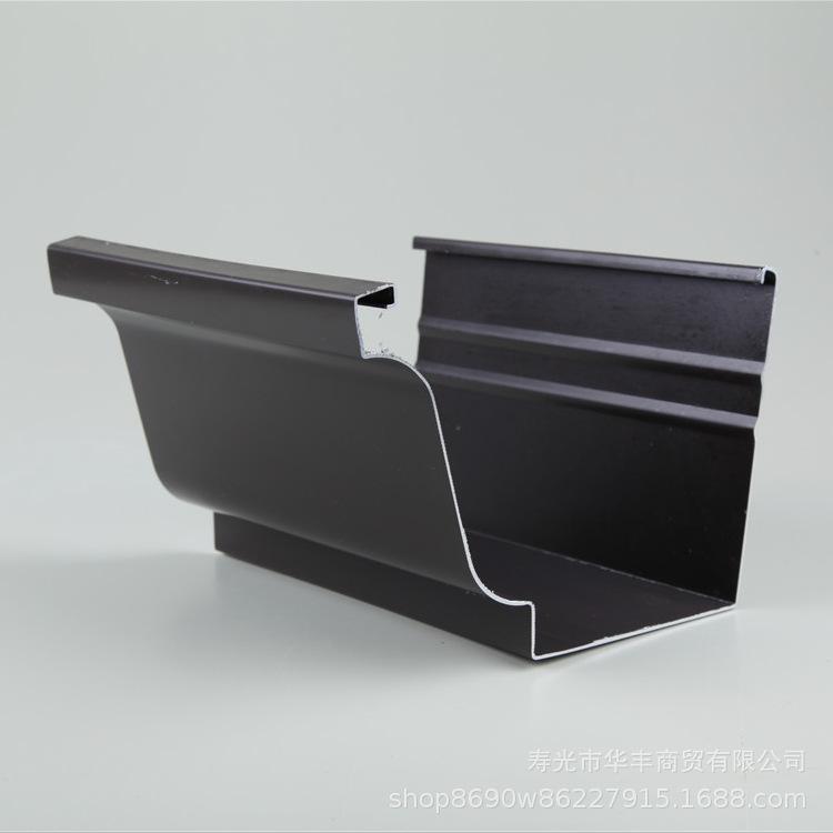 彩铝檐沟厂家直销铝合金天沟 彩铝檐沟 雨水槽彩铝天沟室外金属檐