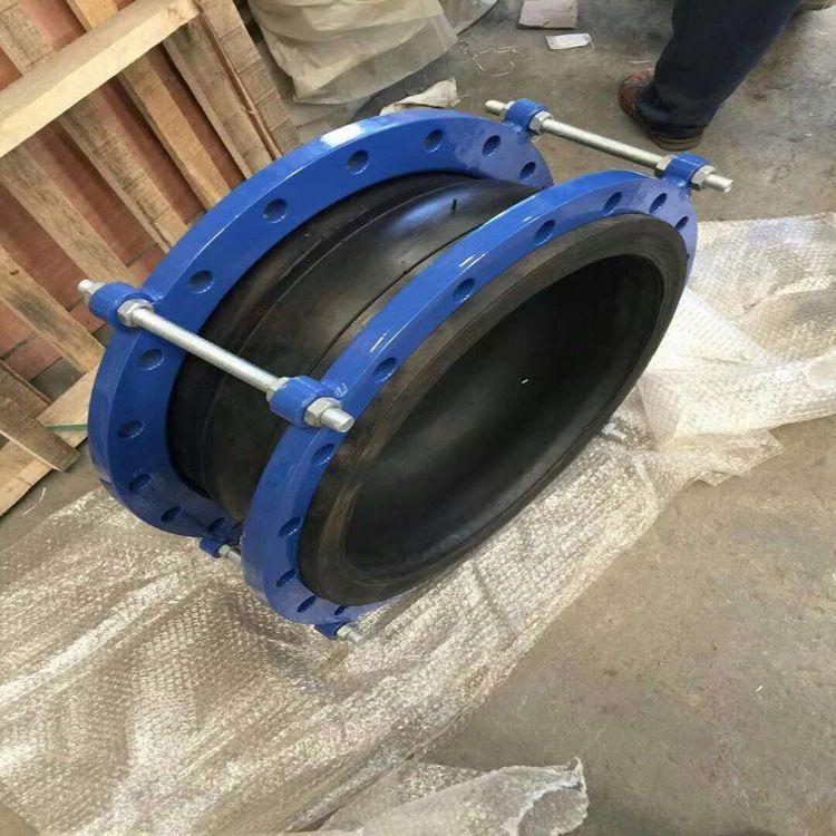 明呈管道防拉脱橡胶接头  高压橡胶软连接产品生产