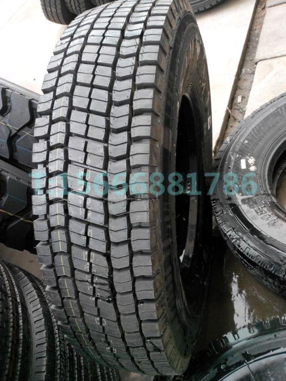 汽车轮胎 11R22.5全钢丝卡车客车轮胎 真空轮胎 块状花纹