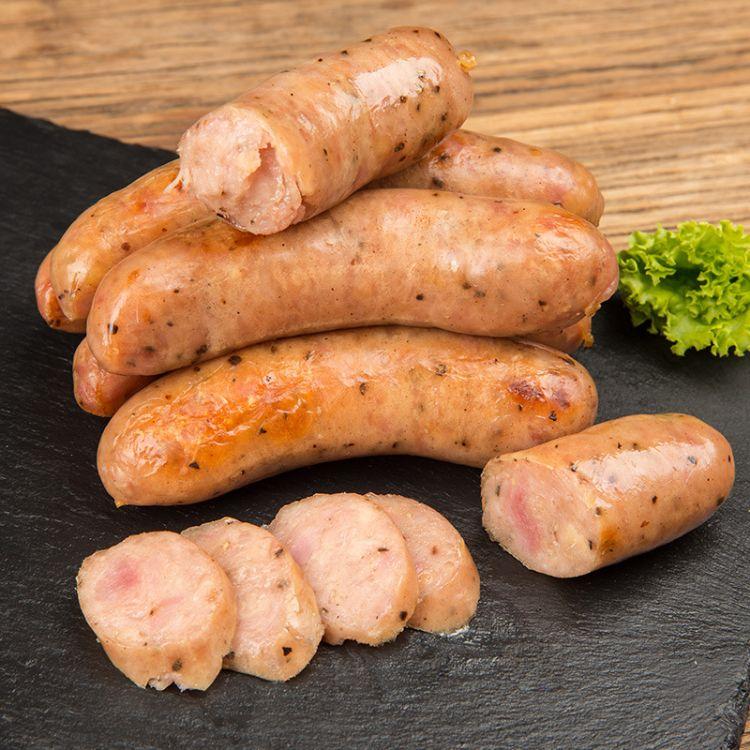 火山石烤肠2.8斤手工台湾热狗肠纯肉地道肠20根香肠肉烤肠
