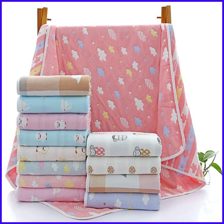 包邮特价童被六层纱布儿童毛巾被婴儿浴巾婴童家纺宝宝盖毯空调被