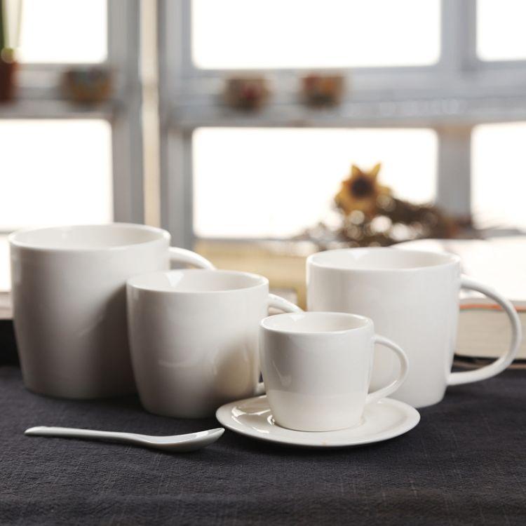 陶瓷店内杯 陶瓷杯 咖啡杯 创意马克杯 礼品杯子  水杯可印logo