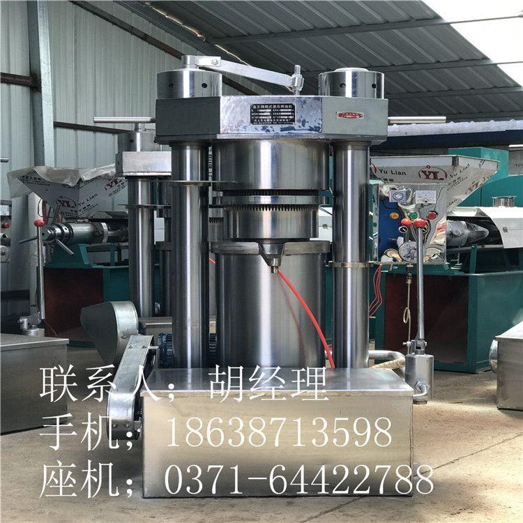 热销 10公斤韩式香油机 芝麻压油机  香油榨油机 液压香油机厂家