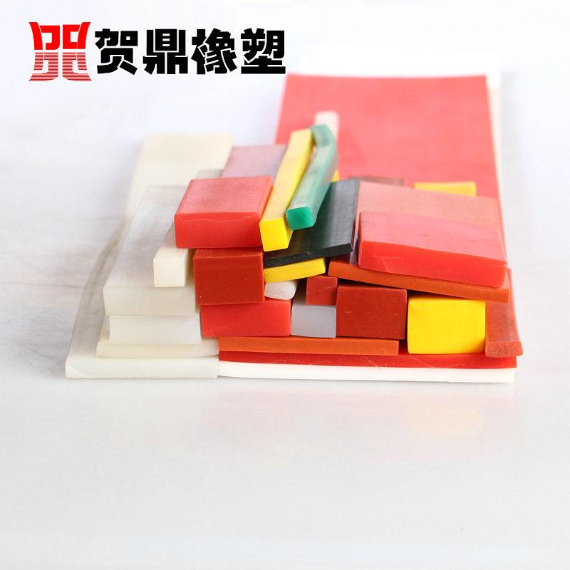 硅胶扁条 矩形硅胶条 耐高温方形实心密封条 硅胶条 透明硅胶条