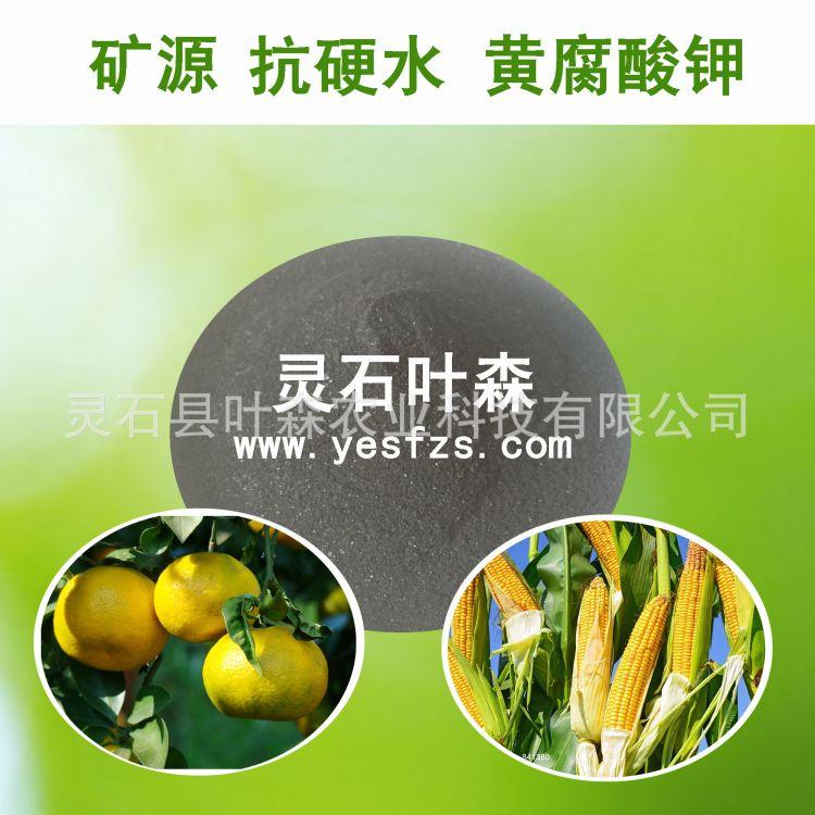 黄腐酸钾 叶面肥也可滴灌冲施 厂家直销
