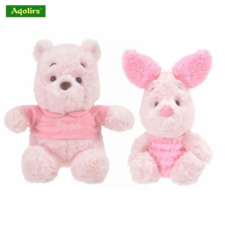 日系人气可爱SAKURA樱花系列维尼熊皮杰猪毛绒玩具玩偶娃娃机公仔