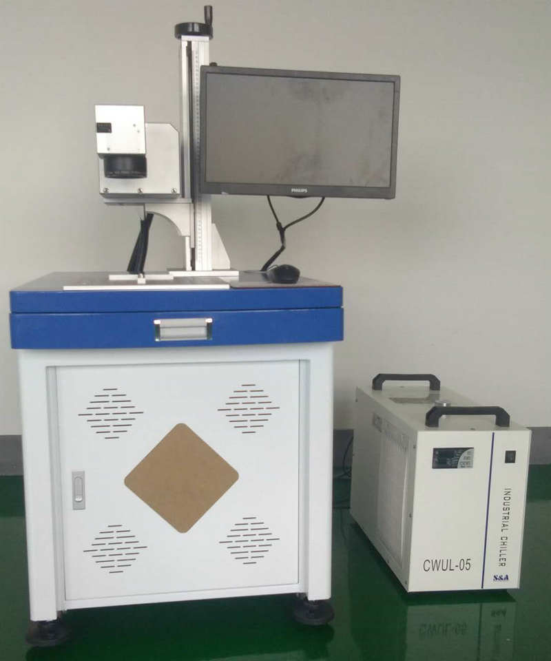 杭州金华紫外激光打标机 充电器激光打标机 二维码激光打码机现货
