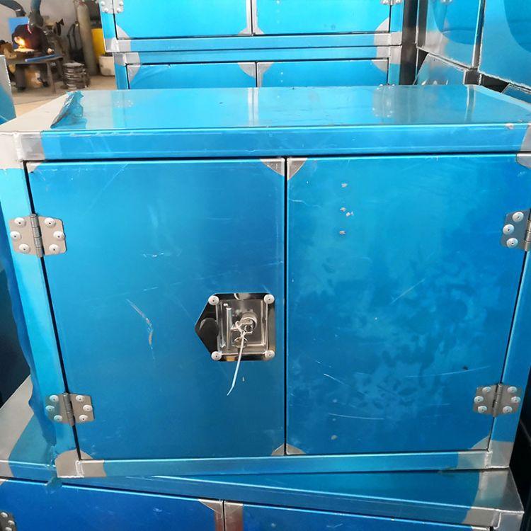 双开门工具柜储物柜铁皮柜五金工具箱铁工具收纳箱金属加厚小矮柜