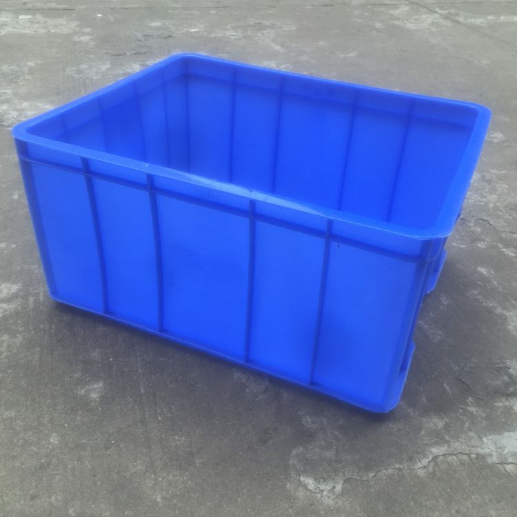 9#蓝色周转箱 无尘车间专用周转箱 可带盖蓝色塑胶周转箱 可丝印