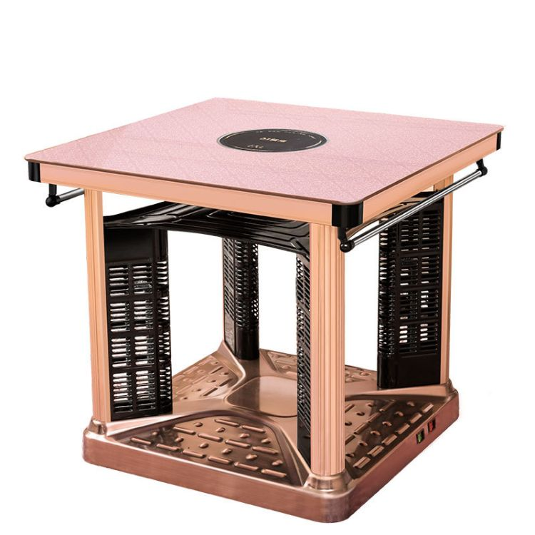 电暖桌取暖桌家用多功能电烤炉正方形烤火器电炉子取暖器电热桌子