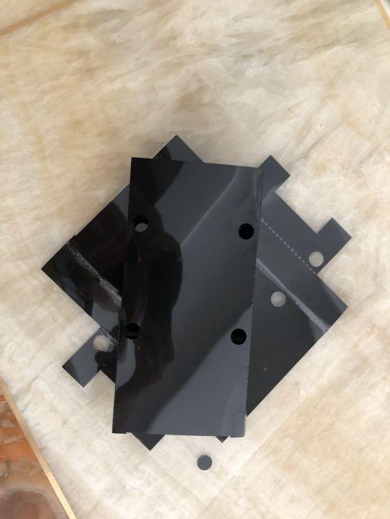 厂家直销定制各种 pet透明麦拉片 绝缘胶片塑胶平垫片