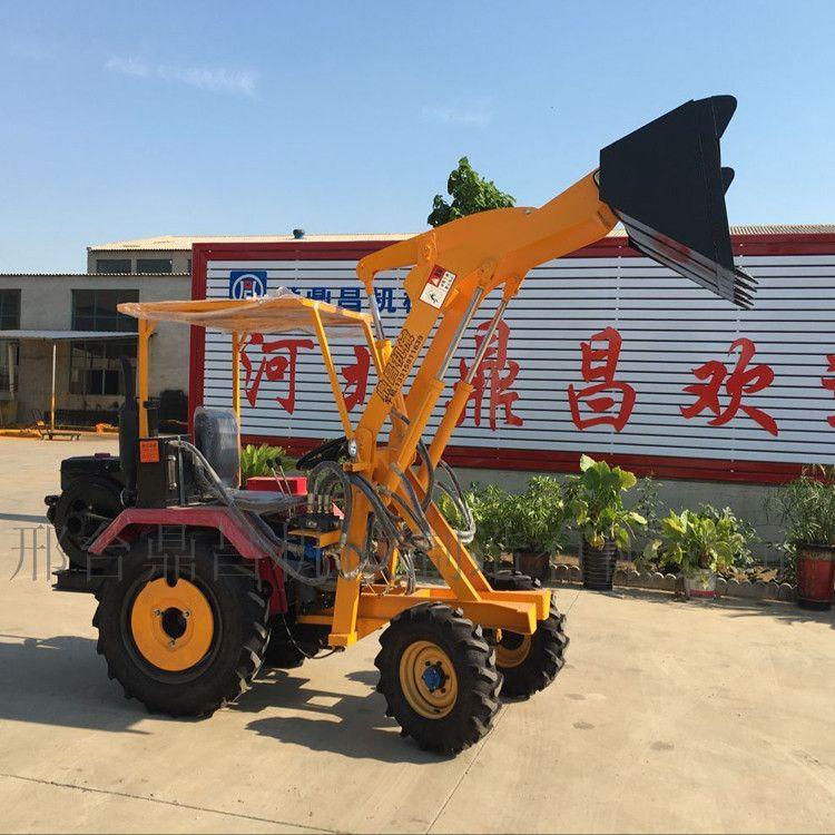 轮式小型装载机工程小铲车电启动液压助力